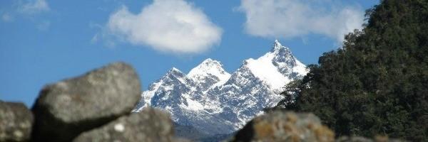 Clique das paisagens de Machu Picchu (Foto: Arquivo Pessoal)