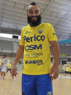 Oitomeia Jaraguá Futsal (Foto: João Lucas Cardoso)