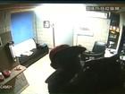 Ladrão que 'tomou banho' de óleo é preso depois de cometer outro furto