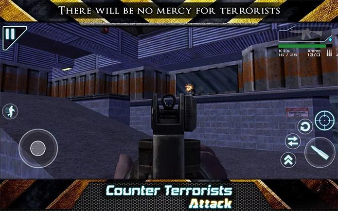 Contra Ataque Terrorista tem até mesmo fases tiradas do Counter-Strike (Foto: Divulgação/GHA Developers)