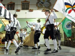 Comunidade de Santa Olímpia, em Piracicaba - Festa da Polenta 2013 (Foto: Ivan Moretti/Divulgação)