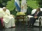 Papa Bento XVI reza por prisioneiros em Cuba