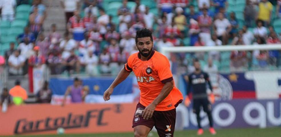 Guilherme fez a primeira partida pelo Atlético-PR contra o Bahia (Foto: Marco Oliveira/ Atlético-PR)