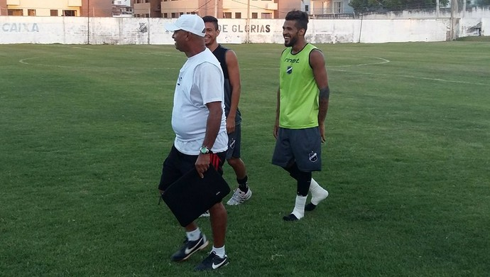 RN - Wassil Mendes, técnico do Atlético Potengi (Foto: Jocaff Souza/GloboEsporte.com)