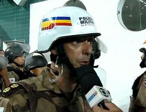 Coronel Cícero Nunes (Foto: Reprodução SporTV)