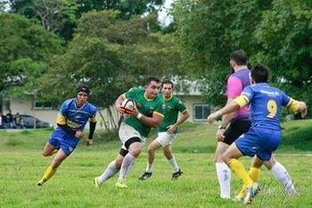 Saimon Dantas, jogador acreano de Rugby (Foto: Saimon Dantas/Arquivo Pessoal)