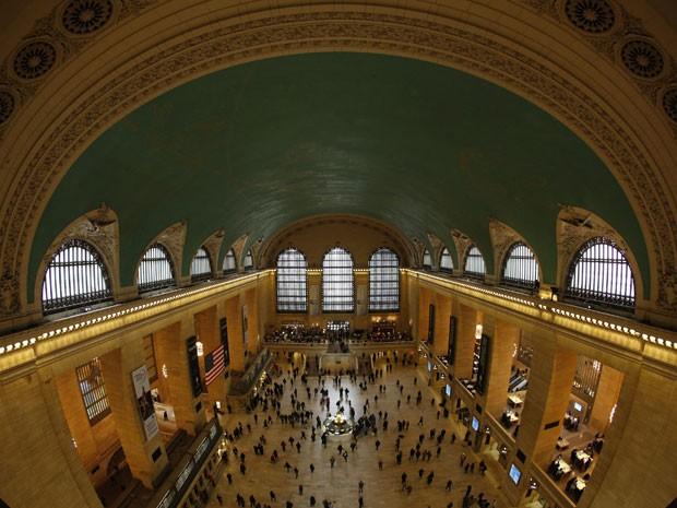 Grand Central Station, estação de trem de Nova York (Foto: Brendan McDermid/Reuters)