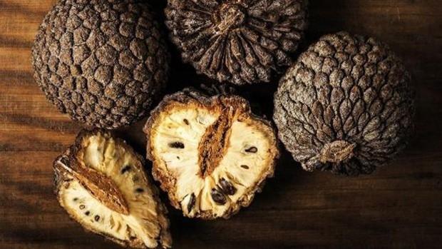 Araticum é um fruto nativo do cerrado (Foto: Alexandre Schneider/Livro 'Misture a Gosto')