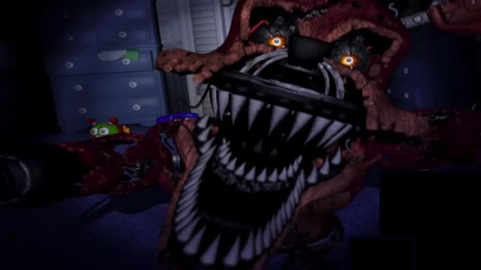 Como jogar Five Nights at Freddy's 4, game para Android e