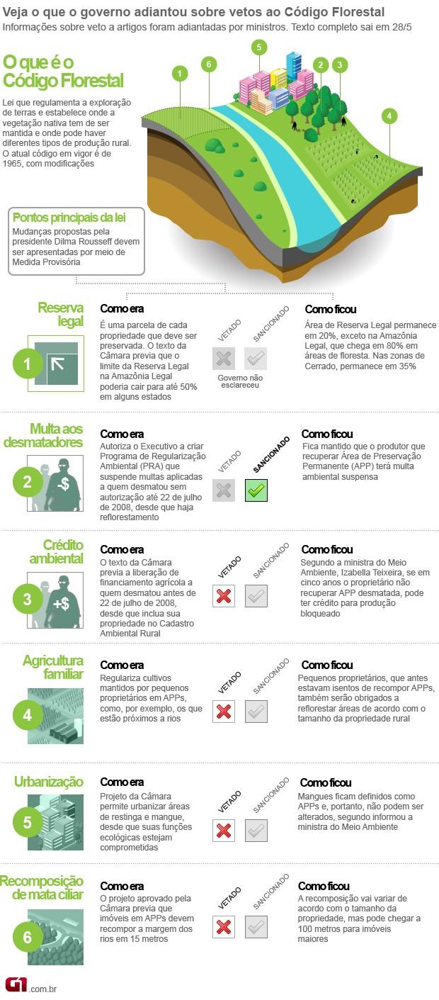 Entenda o Código Florestal - VALE ESTE (Foto:  )
