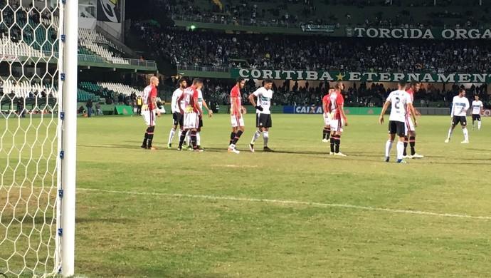 Coritiba São Paulo Couto Pereira (Foto: Thiago Ribeiro)
