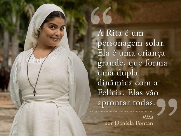 Rita (Foto: Fábio Rocha/Gshow)