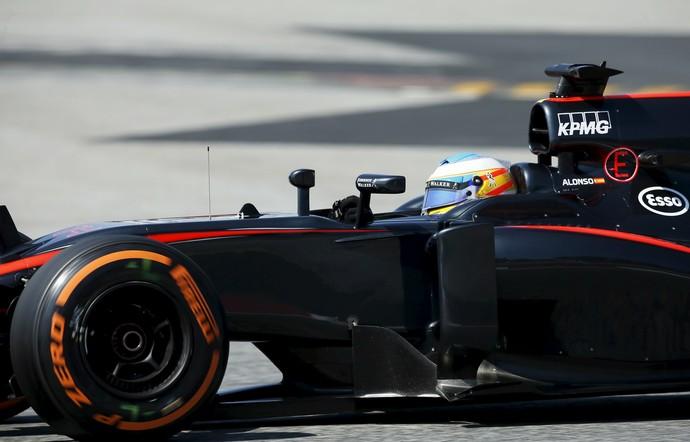 Fernando Alonso não completou três dos cinco GP's de 2015 (Foto: Reuters)