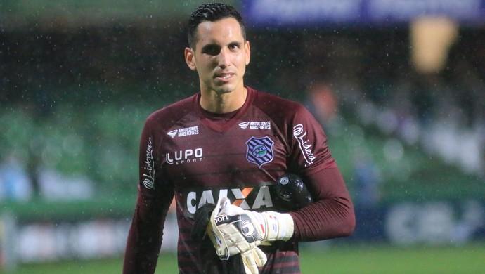 Gatito Fernández Figueirense (Foto: Luiz Henrique/Figueirense FC)