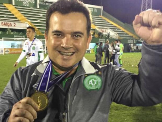 Médico acreano estava em avião que caiu indo para a Colômbia  (Foto: Arquivo pessoal)