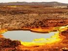 O deserto colorido e mortal onde cientistas procuram os extremos da vida
