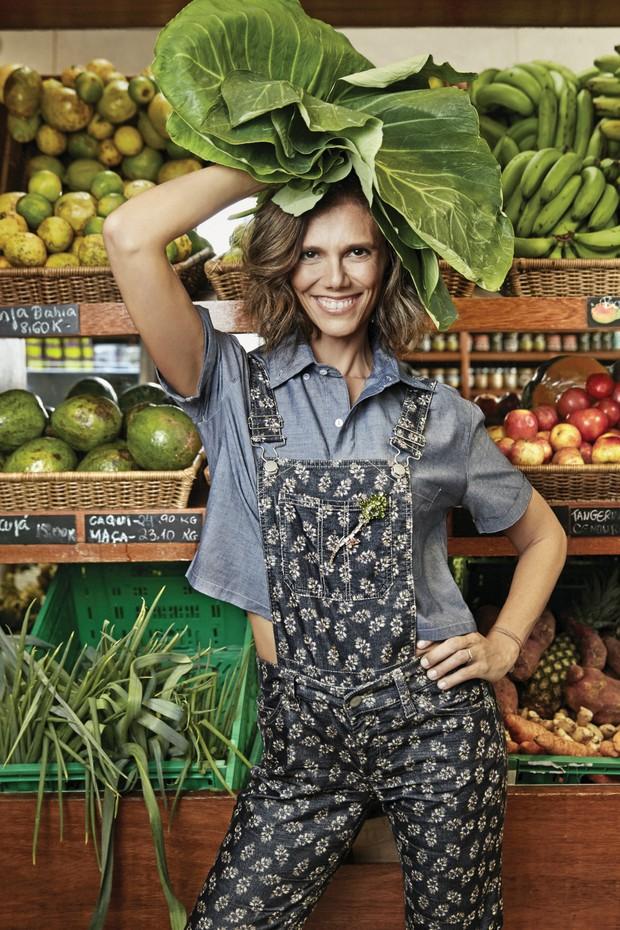 A chef e health coach Anna Elisa de Castro posa para a Vogue no ArmazémVale das Palmeiras, no Rio (Foto: Daniel Mattar e Divulgação  )