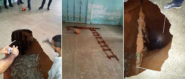 Resultado de imagem para Força Nacional encontra 2 túneis do lado de fora de Alcaçuz