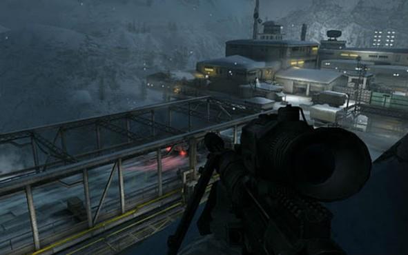 Em Modern Combat 3: Fallen Nation proteja os EUA do caos total