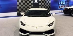 Espaço do AutoEsporte no Salão de SP exibe supercarros (AutoEsporte TV)