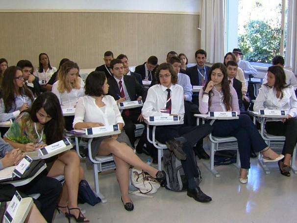 Modelo Intercolegial de Relações Internacionais, Mirin. Como Será? (Foto: Globo)