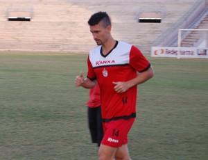 Danilo, lateral do Campinense (Foto: Silas Batista / GloboEsporte.com)