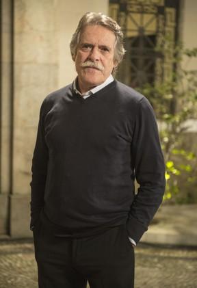 José de Abreu como Gibson na novela A Regra do Jogo (Foto: Globo/Renato Rocha Miranda)