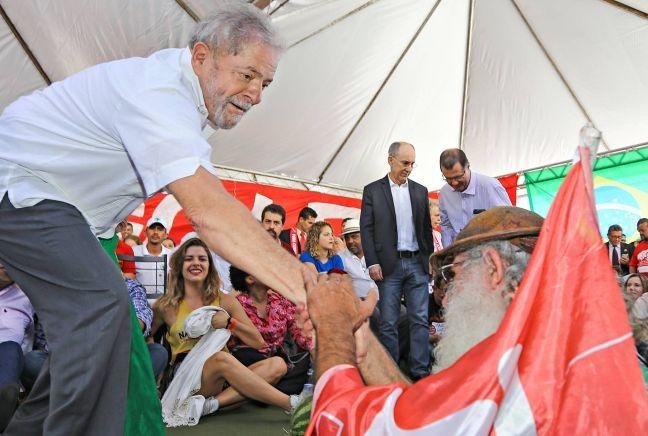 Lula participa de evento contra o impeachment em abril (Foto: Ricardo Stuckert / Instituto Lula)