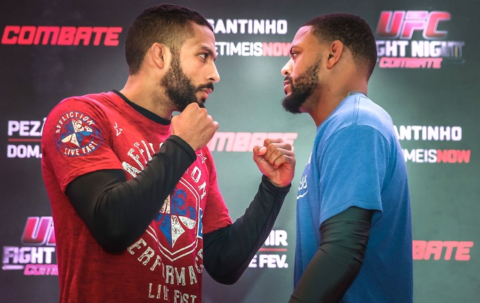 Treino Aberto UFC Michael Johnson X Edson Barboza (Foto: Jefferson Bernardes/Inovafoto)