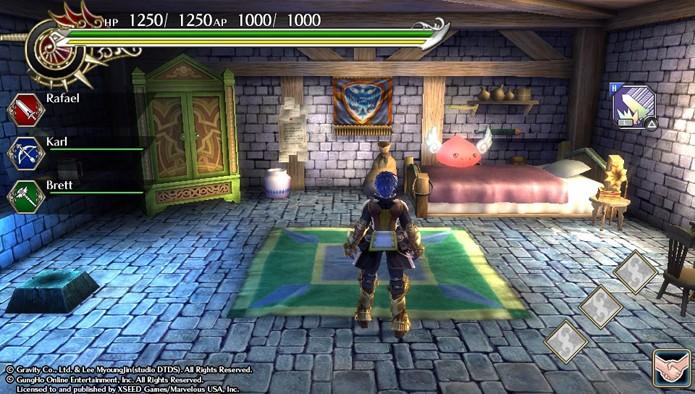 Seu quarto em Ragnarok Odyssey ACE permite salvar o jogo a qualquer momento (Foto: Reprodução)