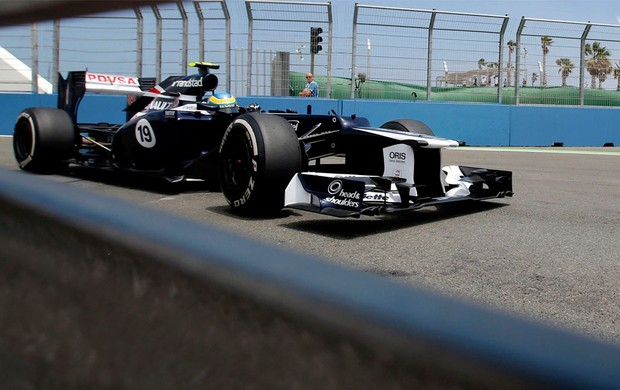 bruno senna williams gp da Europa (Foto: Agência Reuters)