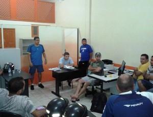 Reunião Handebol (Foto: FAHC / Divulgação)