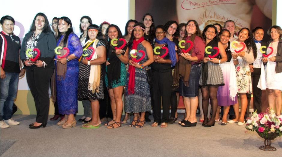 As dez vencedoras do 4º Prêmio Consulado da Mulher de Empreendedorismo Feminino  (Foto: Divulgação)