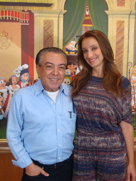 Mauricio de Souza e Sabrina Parlatore (Foto: Bete Nicastro)