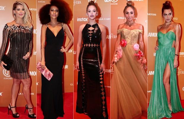 Famosas no Prêmio Geração Glamour (Foto: Rafael Cusato / EGO | Raphael Castello / AgNews)