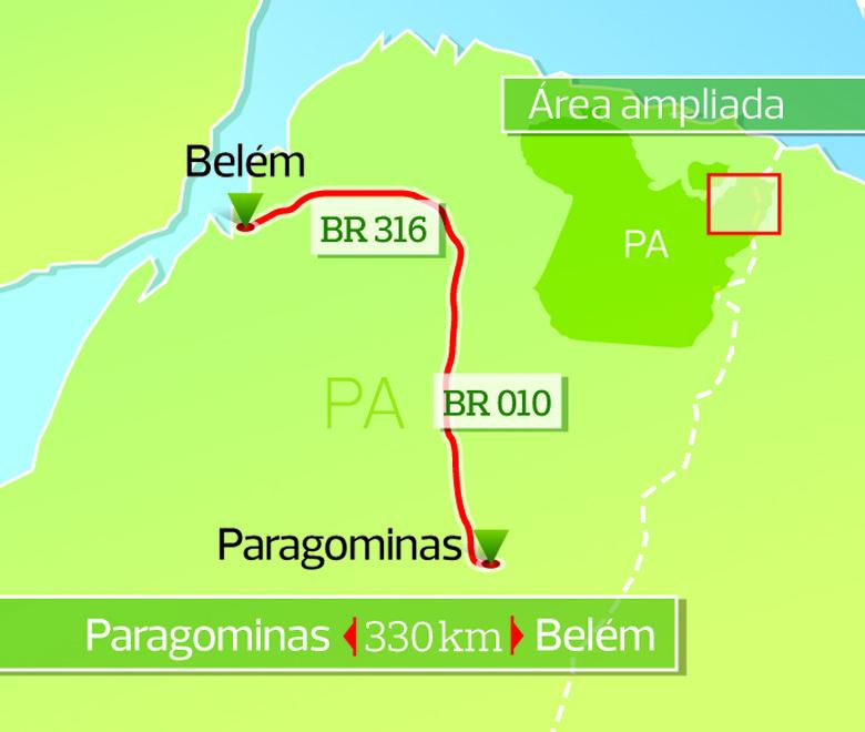 revista_mapa_paragominas (Foto: Rogério Albuquerque / Editora Globo)