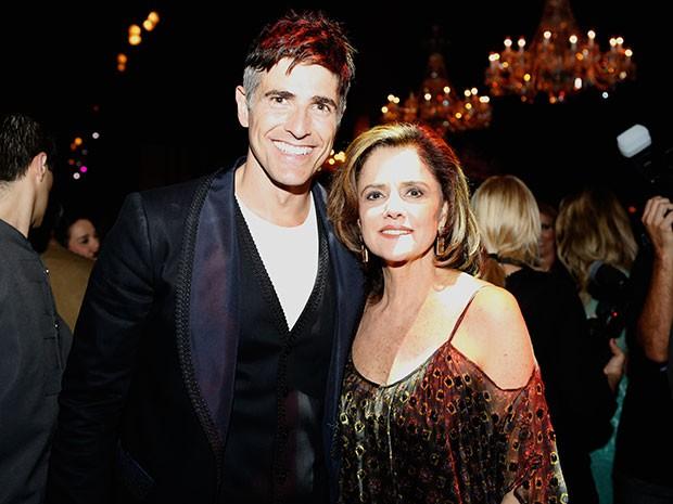 Marieta Severo e Reynaldo Gianecchini se reencontram nas novelas após 15 anos (Foto: Ellen Soares / Gshow)