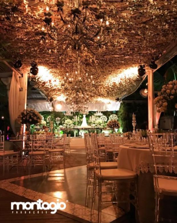 Local da festa de casamento de Munik Nunes e Anderson Felicio (Foto: Reprodução/Instagram)
