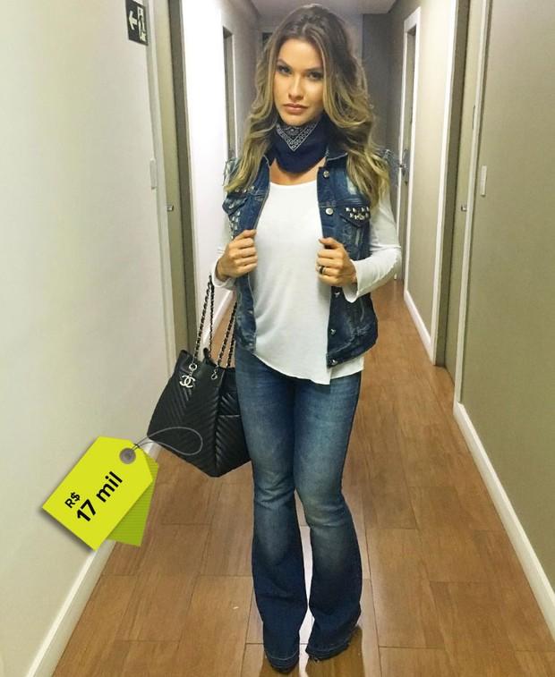 Andressa Suita usa bolsa de R$17 mil (Foto: Reprodução do Instagram)