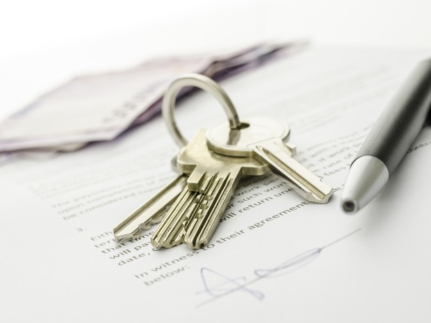 imóveis contrato (Foto: Shutterstock)