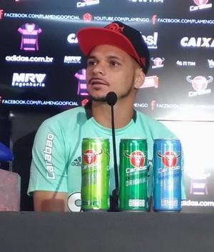 Pará Flamengo (Foto: Vicente Seda / GloboEsporte.com)