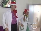 Doutores do Riso visitam pacientes em hospital de São José, SP