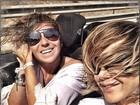 Guilhermina Guinle imita cena de filme com Giovanna Antonelli em Ibiza