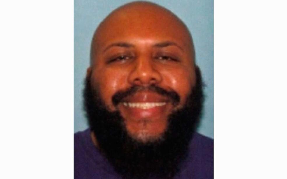 Steve Stephens, em imagem de arquivo da polícia, sem uma data específica (Foto: Polícia de Cleveland / via AP Photo)