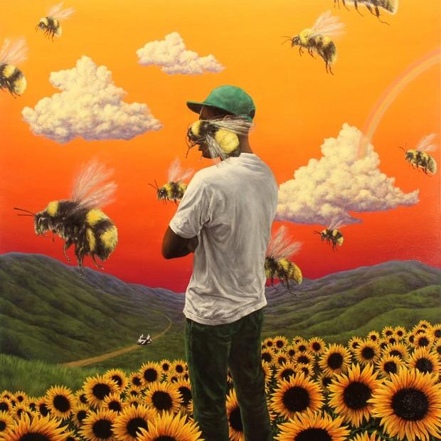 Capa de Capa de Scum Fuck Flower Boy, novo disco de Tyler, The Creator (Foto: reprodução )