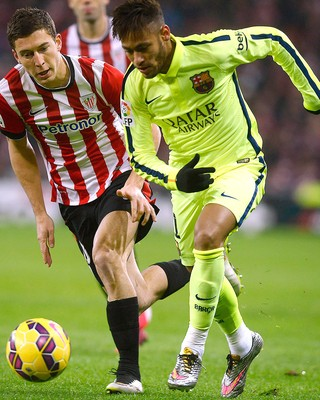 Neymar, Athletic Bilbao x Barcelona (Foto: Reuters)