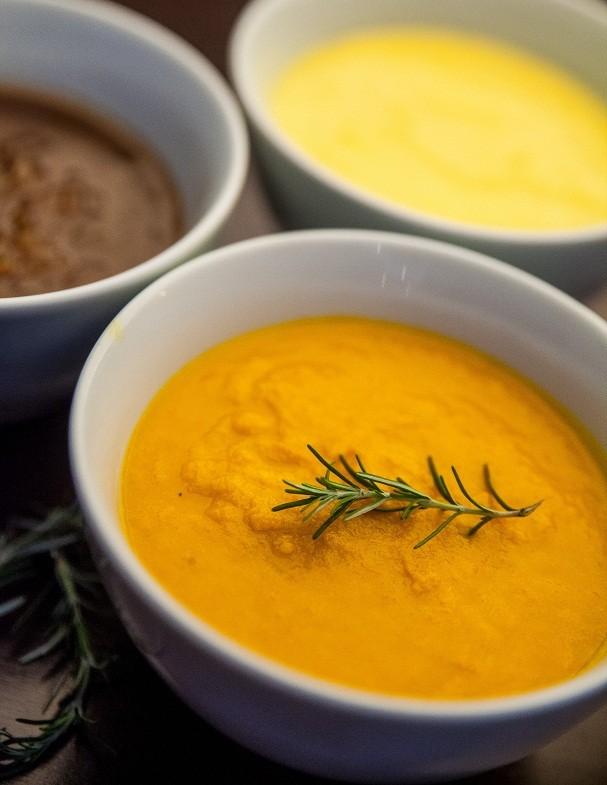 Creme de cenoura leva gengibre, raiz famosa por acelerar o metabolismo (Foto: Divulgação / Márcia Gamma)