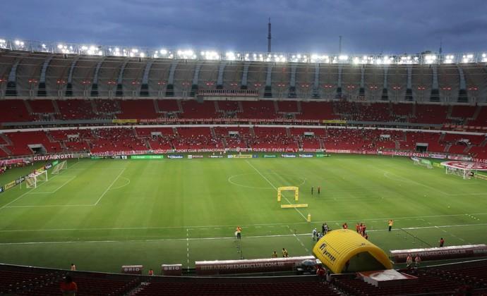 Internacional x Caxias Inter Beira-Rio (Foto: Eduardo Deconto)
