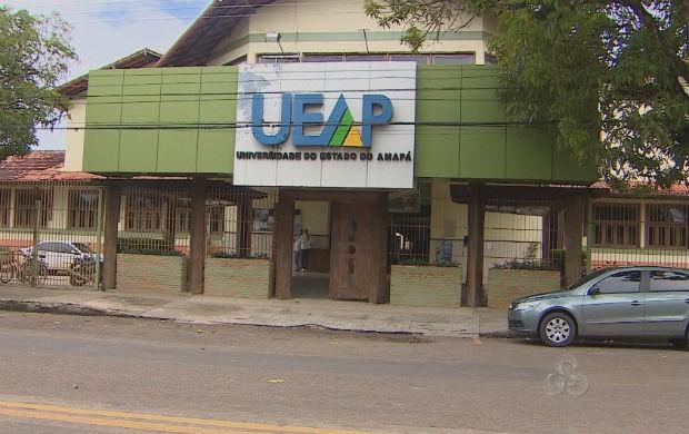 Universidade Estadual do Amapá (Foto: Reprodução/TV Amapá)