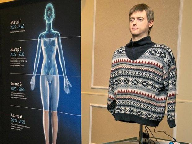 Iniciativa 2045 desenvolveu o 'androide mais humano do mundo' (Foto: Reprodução/Dmitry Itskov/Facebook)